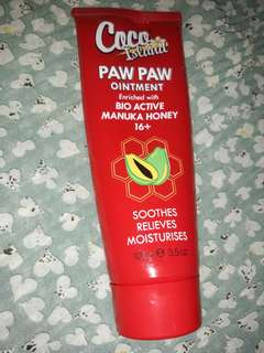 Paw Paw Ointment (with manuka honey)
