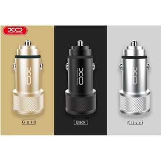 XO-CC02 Quick Charge 3.4A Metal Car Charger
