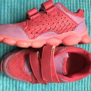 Half price sale! Pink & Purple sport shoes
