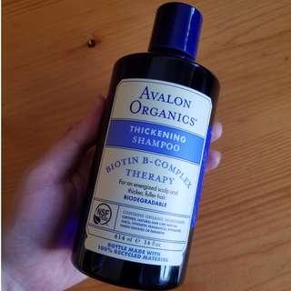 New Version 新版 - Avalon Organics Thickening Shampoo / 防脫髮洗髮水 414ml