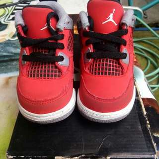 Authentic JORDAN RED TORO 6c