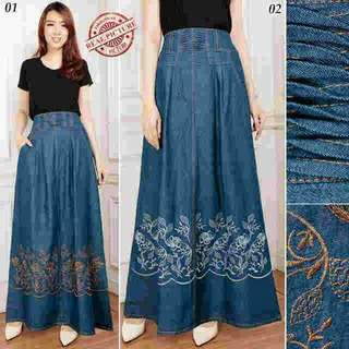 Goldsil long skirt