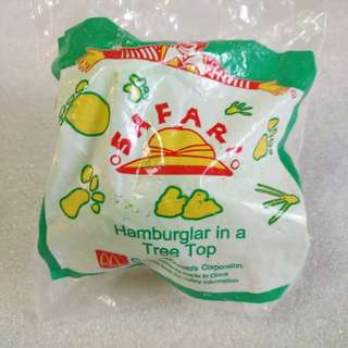 McDonald's 麥當勞 1996年 絕版 漢堡神偷 玩具
