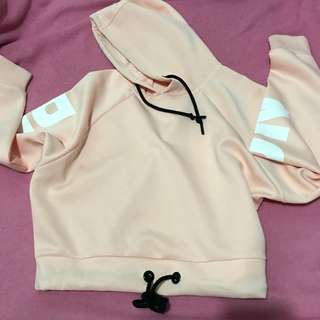 PINK BASIC HOODY JACKET