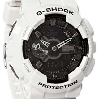徵兩款G shock ga110