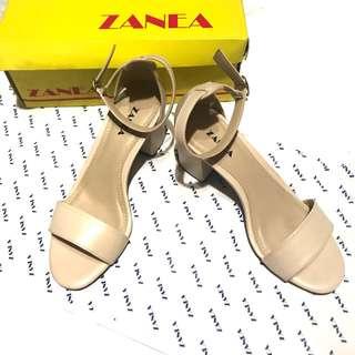 ZANEA beige Ankle strap sandal