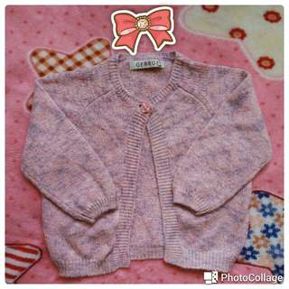 Branded knitted cardigan 18 mos