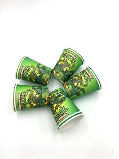 💥 TMNT Party supplies - party cups