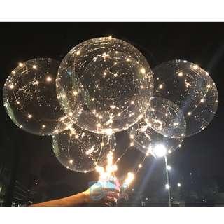 18'' Round Helium Led Balloons