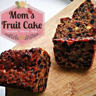 Kek Buah - Fruit Cake