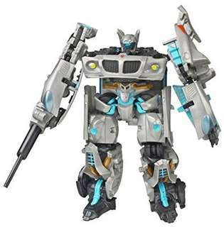 Hasbro 2007 Transformers Movie Deluxe Exclusive Figure in Canister Autobot Jazz