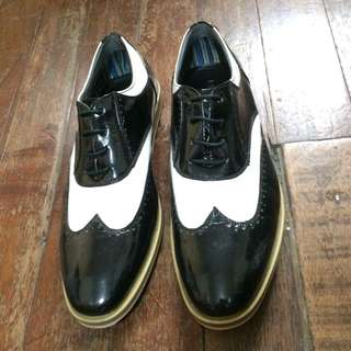 Oxford Wingtip Dress Golf Shoes