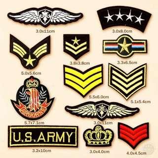 #105 USA army tumblr iron on patch | po