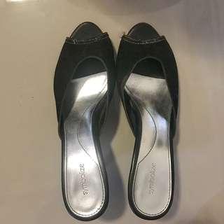Symbolized high heels slop selop
