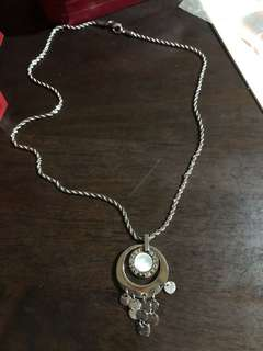 Bvlgari insp necklace