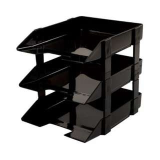 Document Tray 3 layer 3 tier File Desk
