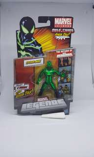 Marvel Legends Bigtime Spiderman Arnim Zola BAF series