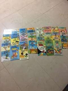 Shichida speed reading materials (54 sunshine phonics books)