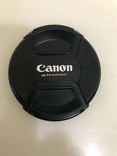 Canon 77mm鏡頭蓋