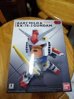 Aape BABY MILO & RX-78-2 GUNDAM [SD EX-STANDARD]