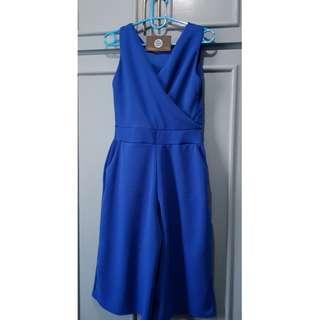 BN Royal Blue Jumpsuit