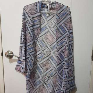 Cotton On Aztec Cover Up