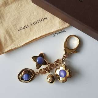 Authentic Louis Vuitton BIJ SAC Tresor Azur Bag Charm LV