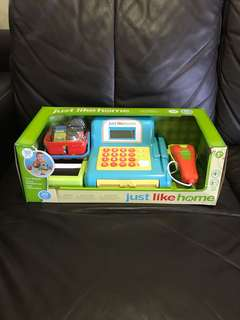 Just Like Home Cash Register Playset