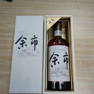 余市10年原酒