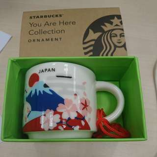 Starbucks Japan you are here 2oz ornament