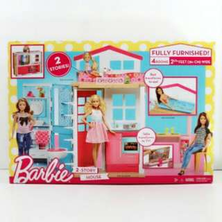 Barbie 2 Storey Doll House