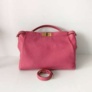Authentic Fendi Peekaboo Pink