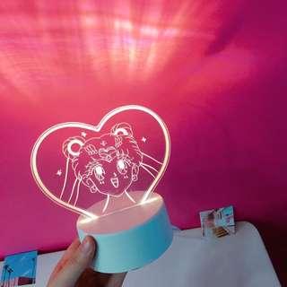 SAILOR MOOM LAMP (readystock)