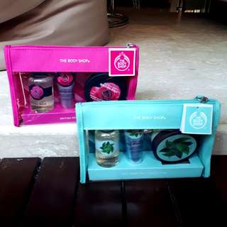 [Gift Set] The Body Shop - Fuji Green Tea Collection [SOLD] & British Rose Collection [AVAIL]