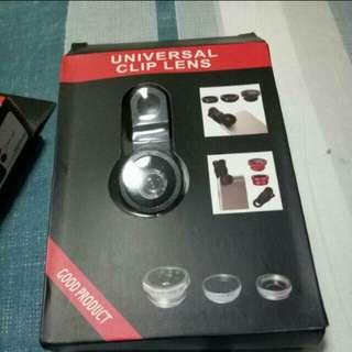 🆕 Universal Clip Fisheye Macro Lens