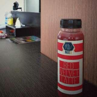 Minuman Kekinian #redvelvet from @beeukopi_deliveryorder
