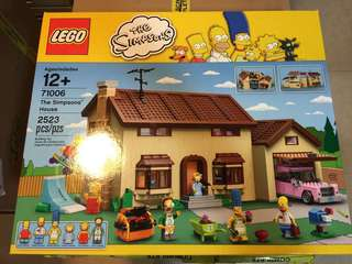 LEGO 71006 Simpsons House and 71016 Simpsons Kwok E -Mark