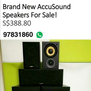 Accusound speakers for sale (high quality speakers)