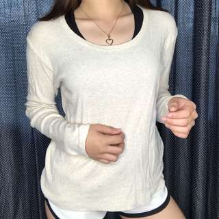 Cream Longsleeve