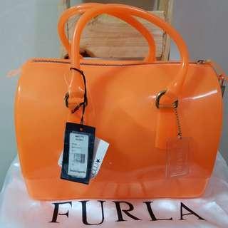 Furla 707561 Handbag Candy Bag Juice Orange