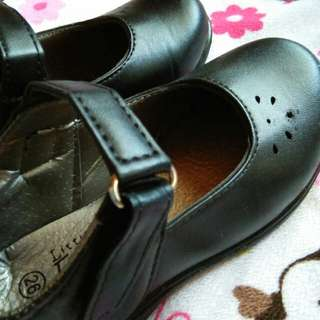 Little Follie/ Black shoes for girls