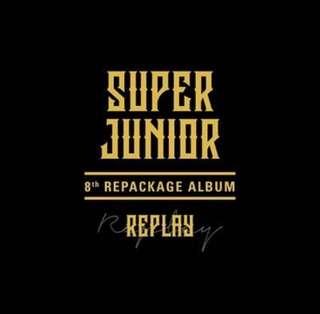 Super Junior - 8th Repacked Album :Replay