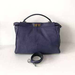 Authentic Fendi Peekaboo Purple