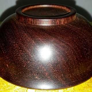 「小葉紫檀厚碗」