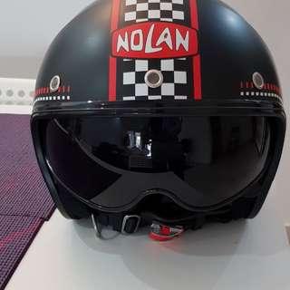 Nolan N21 retro helmet