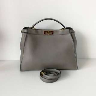 Authentic Fendi Peekaboo Etoupe