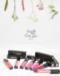 GIVEAWAY 2 SETS OF 10 MINI MATTE LIPSTICK