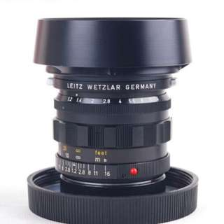 Leica rare 50mm 1.2 with box n paper almost new