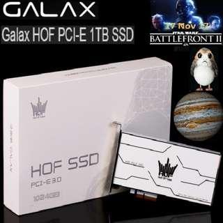 GALAX HOF SSD PCI-E  1 TB PCI-E 3.0 x4..#