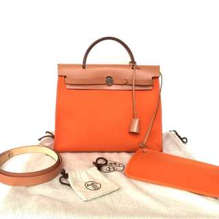 Authentic Hermes Herbag 31 pm